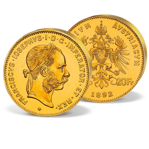 "Goldmünze ""8 Florin Franz Joseph 1870-1892"" AT_2460133_1"