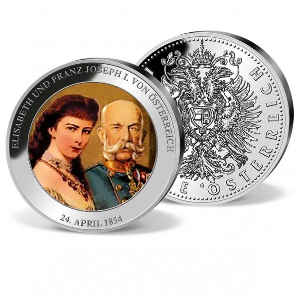 """Farbprägung """"Franz Josef I. und Elisabeth"""" AT_9090610_1"""