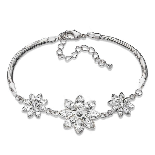 """Armband """"Kristallblumen"""" mit Swarovski® Kristallen AT_3333615_1"""