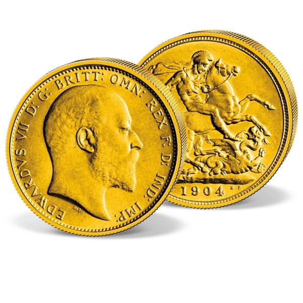 "Goldmünze ""Edward VII. Sovereign"" AT_2460038_1"