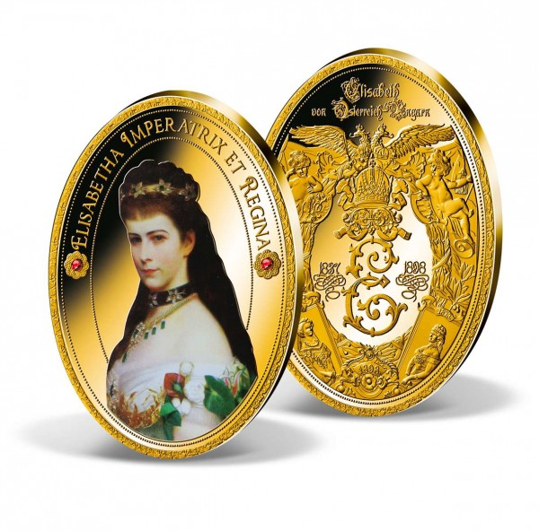 "Ovale Gigantenprägung ""Elisabetha Imperatrix et Regina"" AT_9092042_1"