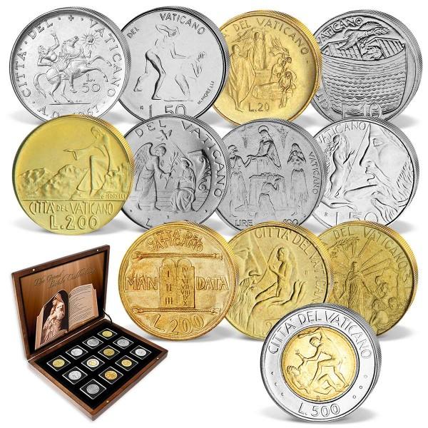 "Komplett-Set Vatikan-Münzen ""Die große Bibel-Kollektion"" AT_8811028_1"