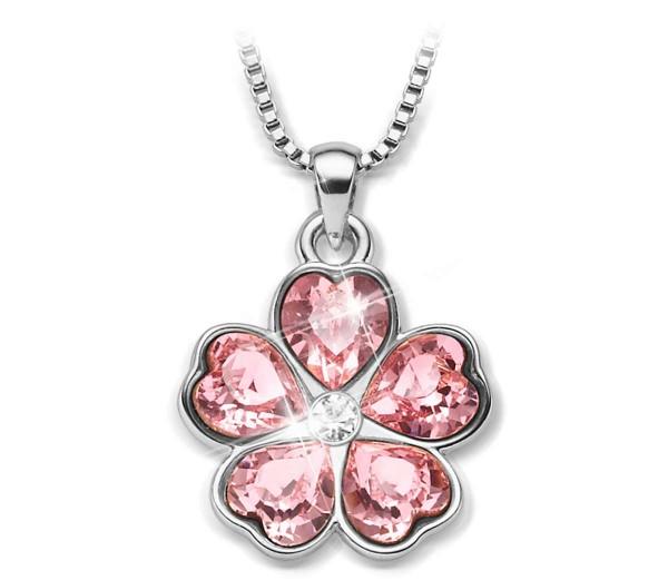 """Kristall-Halskette """"Blütenzauber"""" AT_3334650_1"""