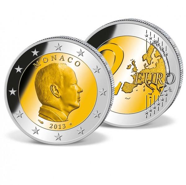 """2 Euro-Gedenkmünze Monaco """"Fürst Albert II."""" AT_2707199_1"""