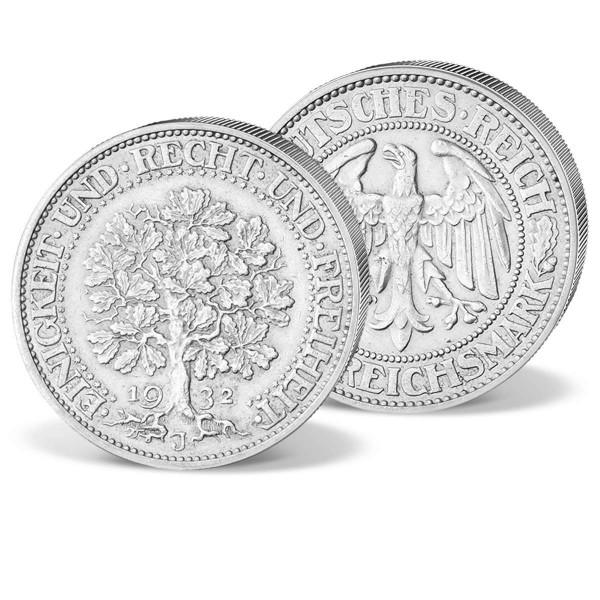 """Die 5 Reichsmark Silbermünze """"Eichbaum"""" AT_1578000_1"""