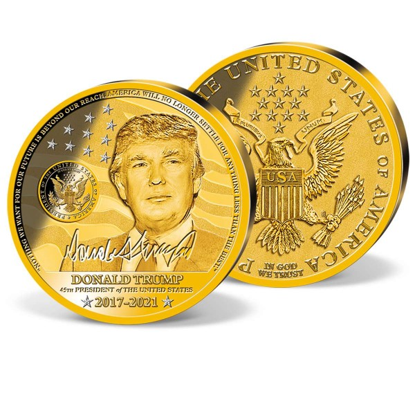 "XXXL-Prägung ""Donald Trump"" AT_2200254_1"