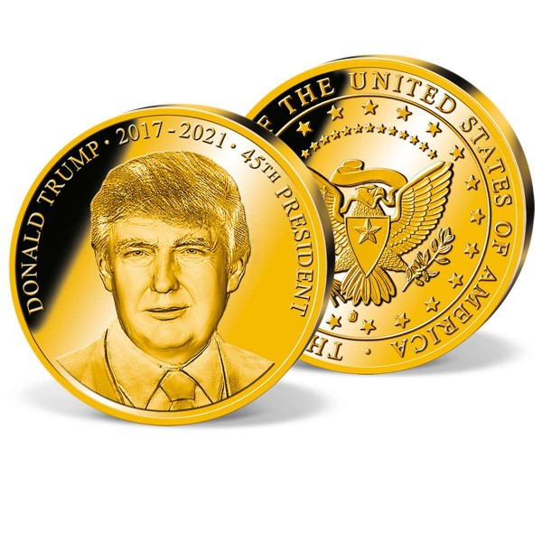 "Sonderprägung ""Donald Trump"" AT_1701641_1"