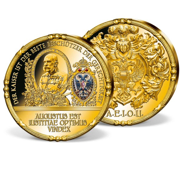 """Gigantenprägung """"Augustus est iustitiae optimus vindex"""" AT_9060833_1"""