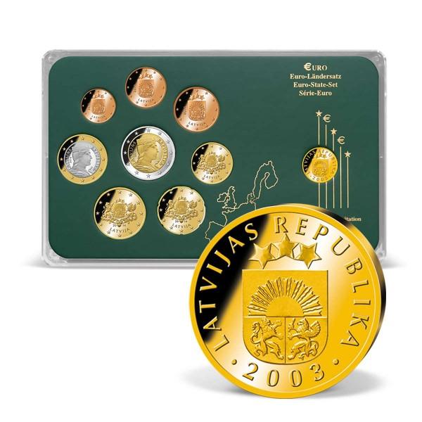 """Euro-Ländersatz """"Lettland"""" AT_1203244_1"""