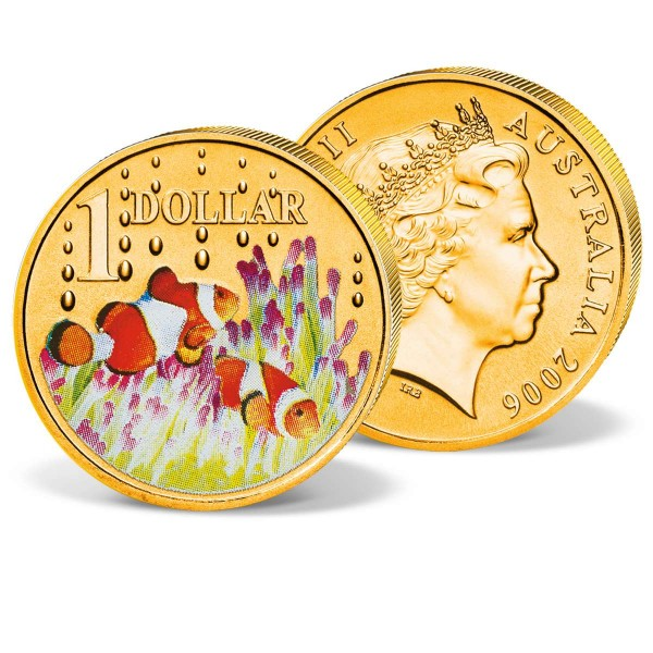 """Australische Münze """"1 Dollar Clownfisch"""" AT_2730311_1"""