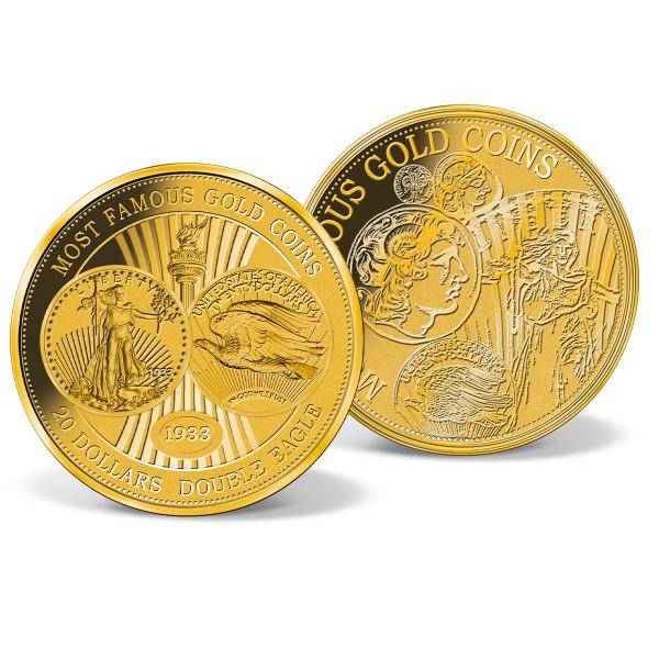 "Gold-Gigantenprägung 1/100 oz. ""20 Dollars Double Eagle"" AT_1739556_1"
