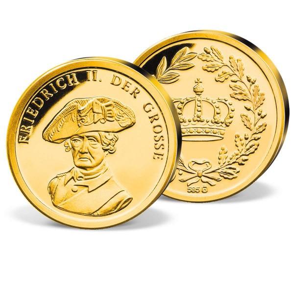 """Goldprägung """"Friedrich II der Grosse"""" AT_2038936_1"""