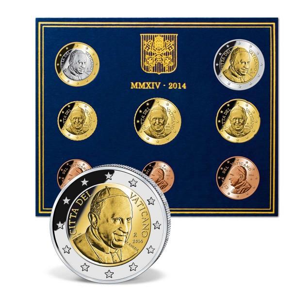 """Euro Kursmünzensatz """"Vatikan 2014"""" AT_2708697_1"""
