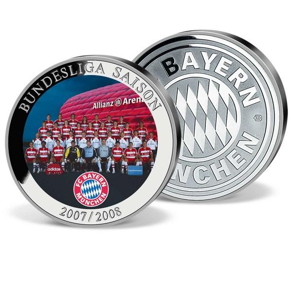 """Farbprägung """"FCBayern Bundesliga Saison 2007-2008"""" AT_9856070_1"""