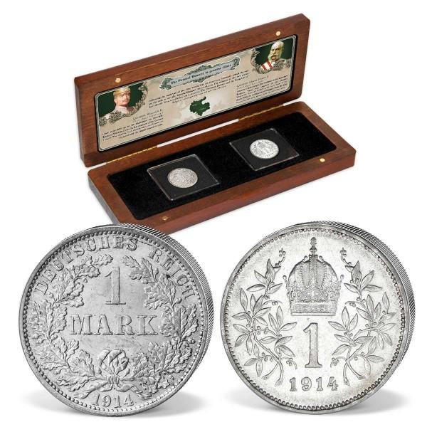 """Komplett-Set Silbermünzen """"100 Jahre Ende des Ersten Weltkriegs"""" AT_8811025_1"""