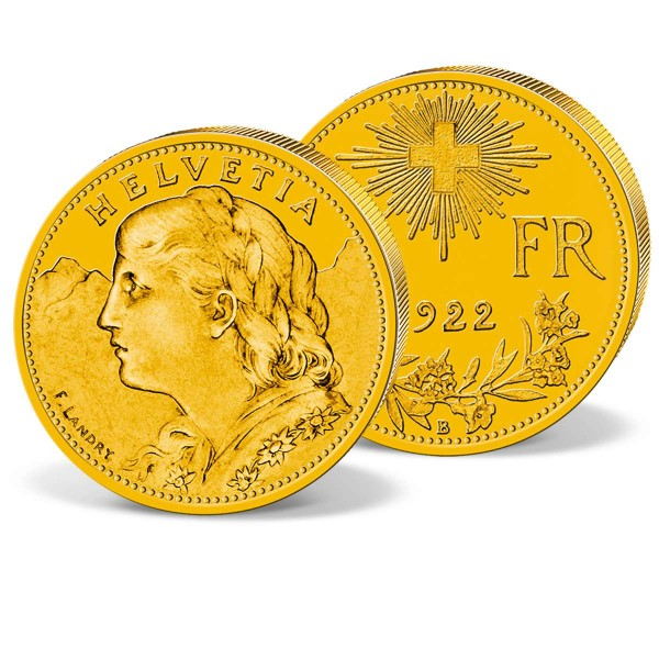 """Goldmünze """"10 Franken Schweiz Vreneli"""" AT_2460105_1"""