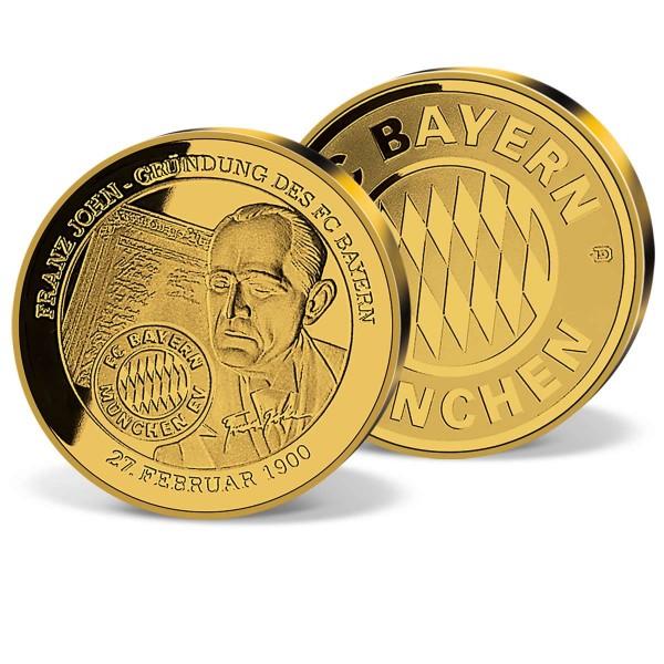 "Goldprägung ""100 Jahre FC Bayern München"" AT_9659003_1"