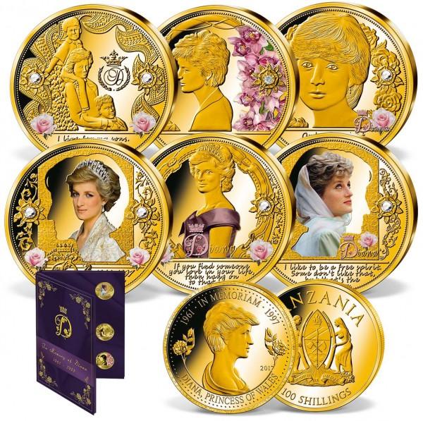 """7er Komplett-Set """"In Erinnerung an Diana"""" AT_1950870_1"""
