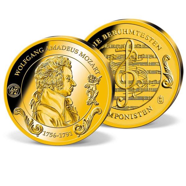 """Goldprägung """"Wolfgang Amadeus Mozart"""" AT_2175010_1"""