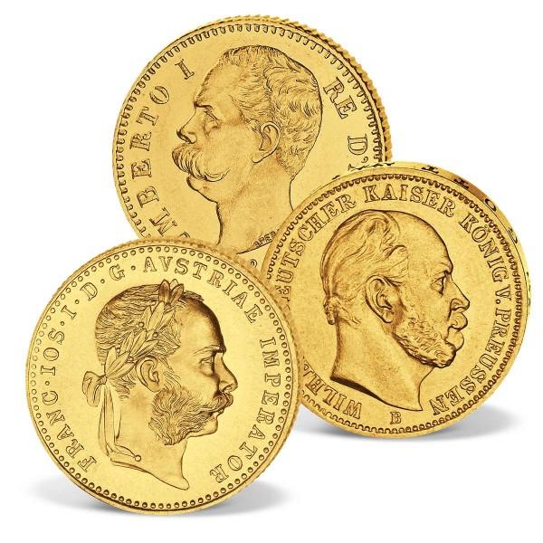 "Goldmünzen 3er Set ""Gold des Dreibunds"" AT_2460065_1"