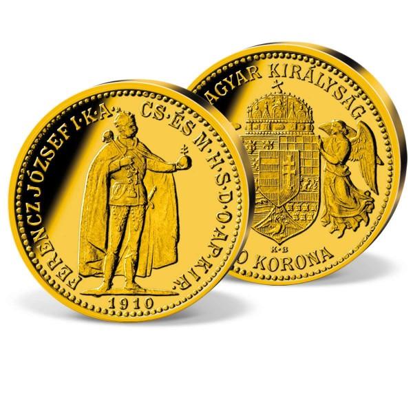 """Goldmünze """"10 Kronen Franz Joseph I. Österreich-Ungarn"""" AT_2460032_1"""