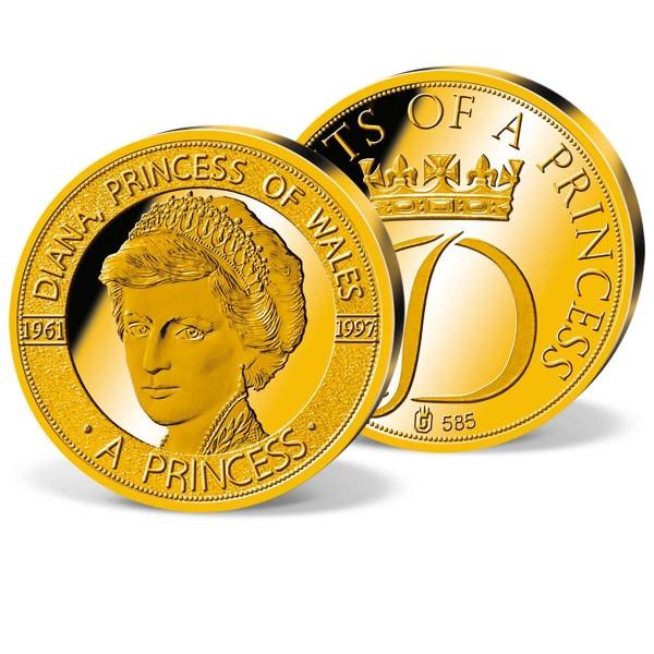 """Gedenkprägung """"Diana - eine Prinzessin"""" AT_1950803_1"""