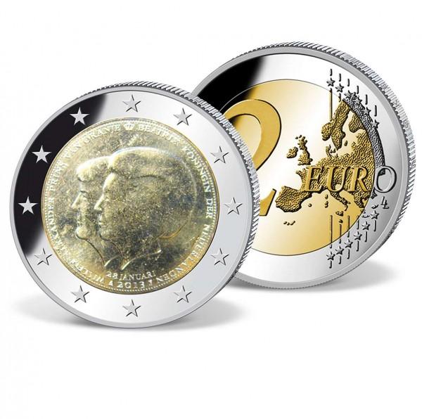 """2 Euro Gedenkmünze """"Niederlande Beatrix und Willem"""" AT_2719423_1"""