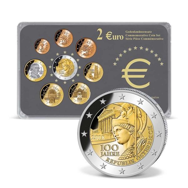 """2 Euro Gedenksatz """"Österreich 2018"""" AT_2718360_1"""