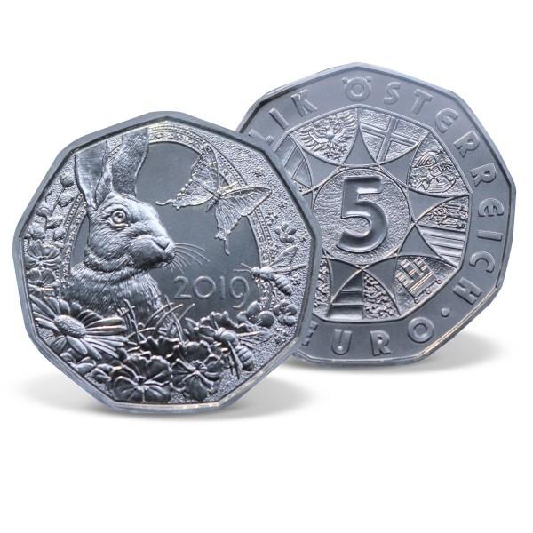 "Silbermünze 5 Euro ""Frühlingserwachen"" 2019 AT_2546303_1"