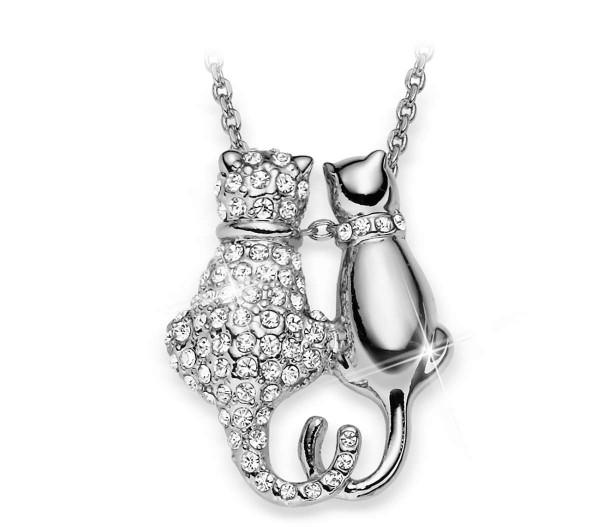 "Halskette ""Kristall Katze"" AT_3333621_1"
