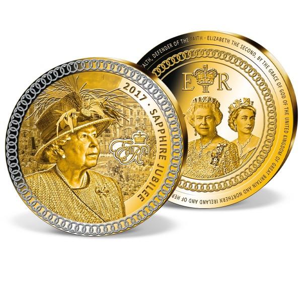 """Gigantenprägung """"Queen Elizabeth II. - Saphir Jubiläum"""" AT_9173576_1"""