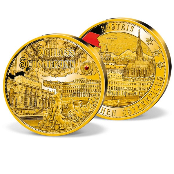 """XXXL-Prägung """"Schloss Schönbrunn"""" AT_9092022_1"""