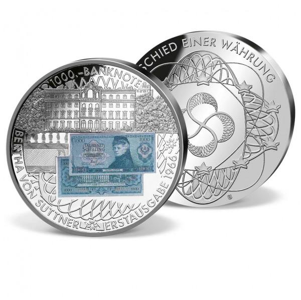 """Banknoten Prägung """"5000 ÖS  W. A. Mozart"""" AT_9182150_1"""