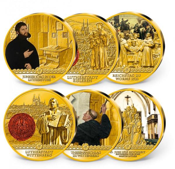 "6er Komplett-Set ""Das Leben des Martin Luther"" AT_9037157_1"