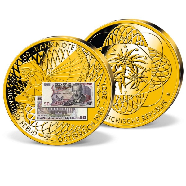 """Banknotenprägung """"50,- Schilling Sigmund Freud"""" AT_9182360_1"""