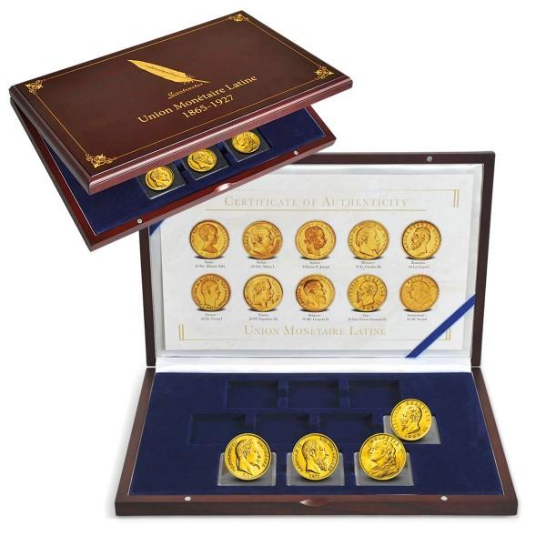 """Goldmünzen 4er Set """"Lateinische Münzunion"""" AT_2460100_1"""