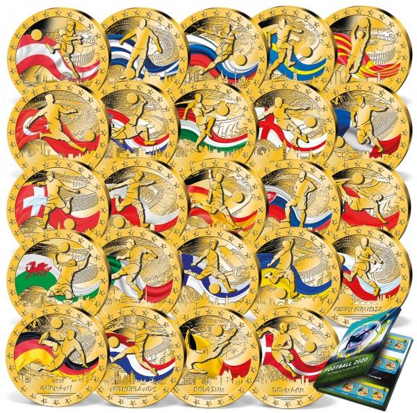 """24er Komplett-Set """"Fußball-EM Teilnehmer 2020"""" AT_9371830_1"""
