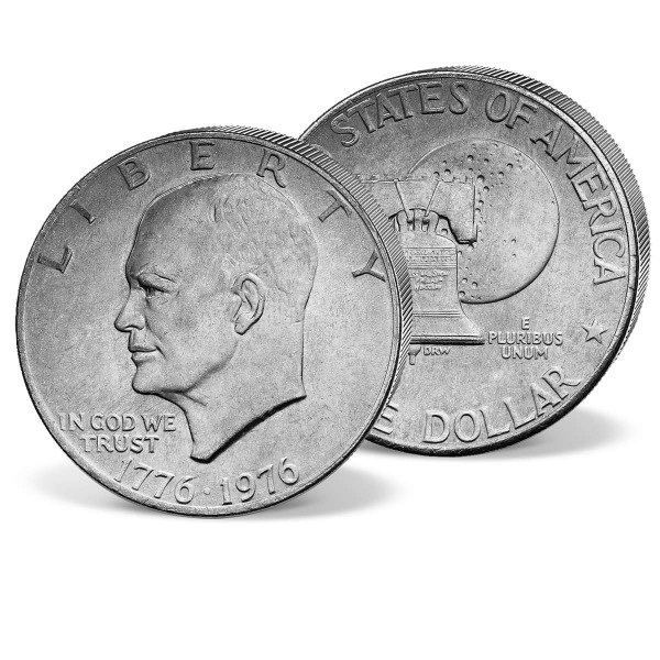 """1 Dollar Gedenkmünze """"Dwight D. Eisenhower"""" AT_2507725_1"""