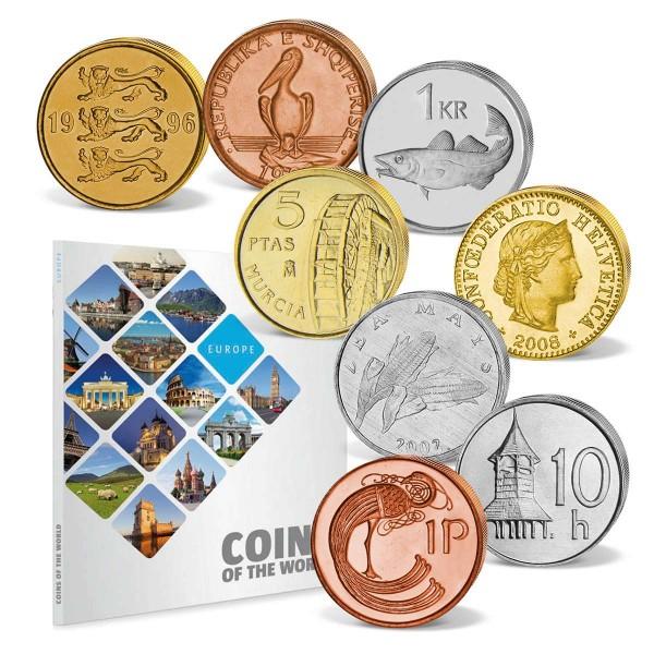 """48er Komplett-Set """"Coins of the World - Europa"""" AT_8811005_1"""