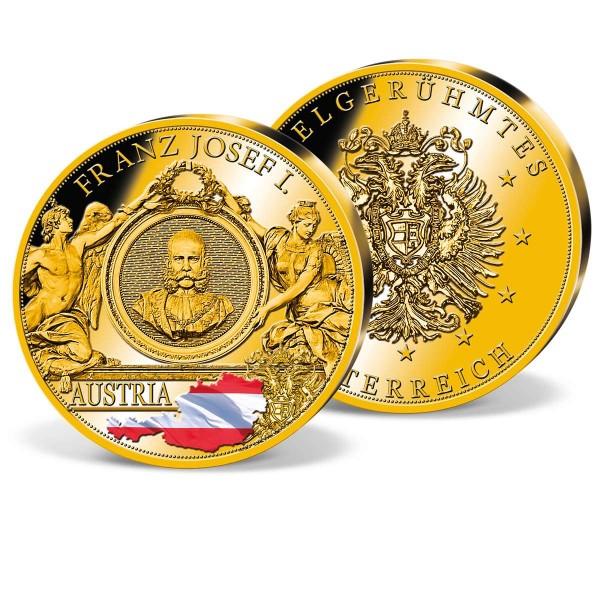 """Gedenkprägung """"Franz Joseph I."""" AT_9173882_1"""