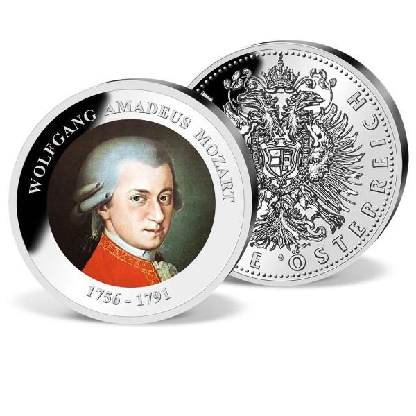 """Farb Gedenkprägung """"Mozart"""" AT_9090550_1"""