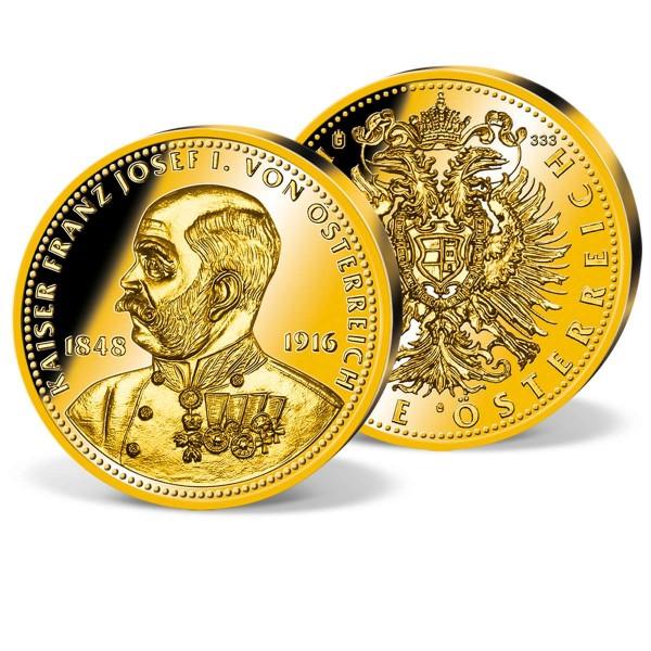 "Goldprägung ""Kaiser Franz Joseph I."" AT_9091401_1"