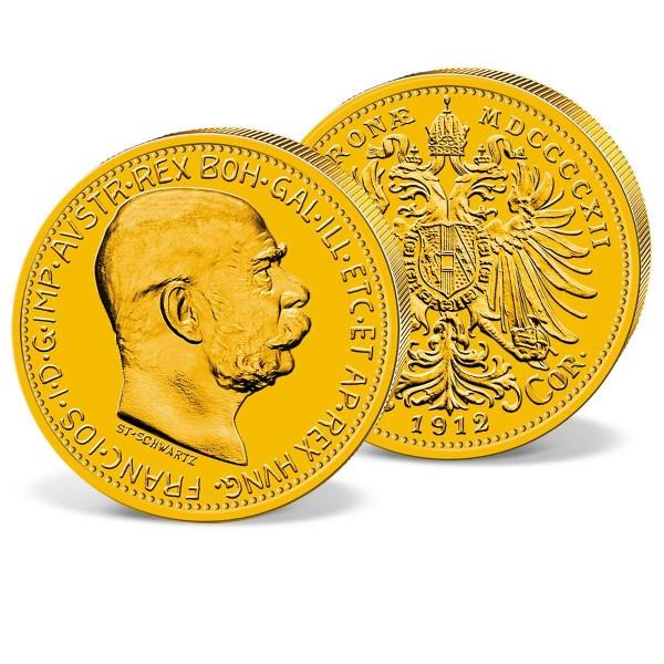 """Goldmünze """"10 Kronen Österreich 1912"""" AT_2460030_1"""