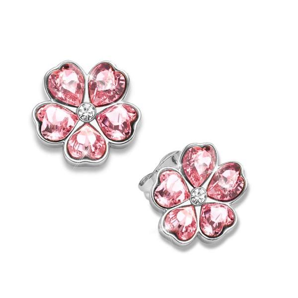 """Ohrringe """"Blütenzauber"""" mit Swarovski® Kristallen AT_3334655_1"""