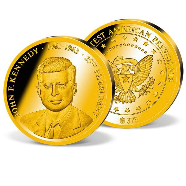 "Goldprägung  ""John F. Kennedy"" AT_1711662_1"