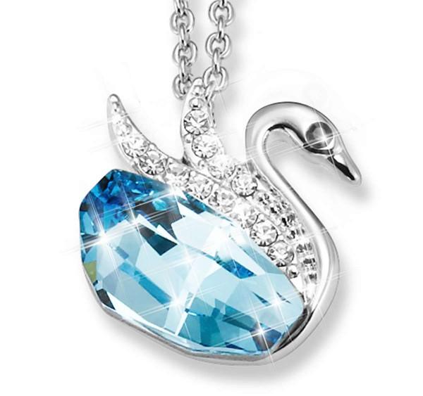 """Halskette """"Kristall-Schwan"""" AT_3333620_1"""