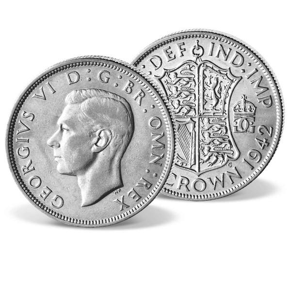 """Gedenkmünze Großbritannien """"1/2 Crown George VI."""" AT_2421101_1"""