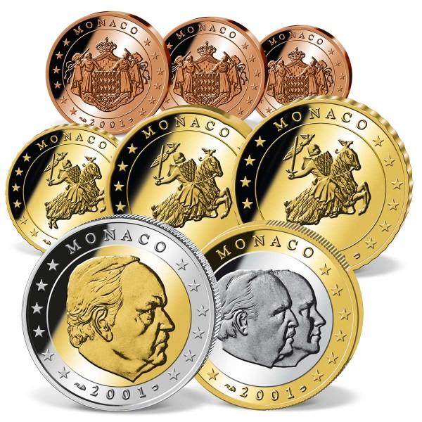 "Euro Kursmünzensatz ""Monaco 2002"" AT_2708356_1"