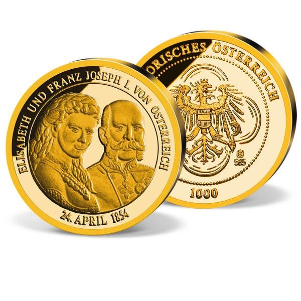 """Goldprägung """"Franz Joseph und Sisi"""" AT_2870030_1"""