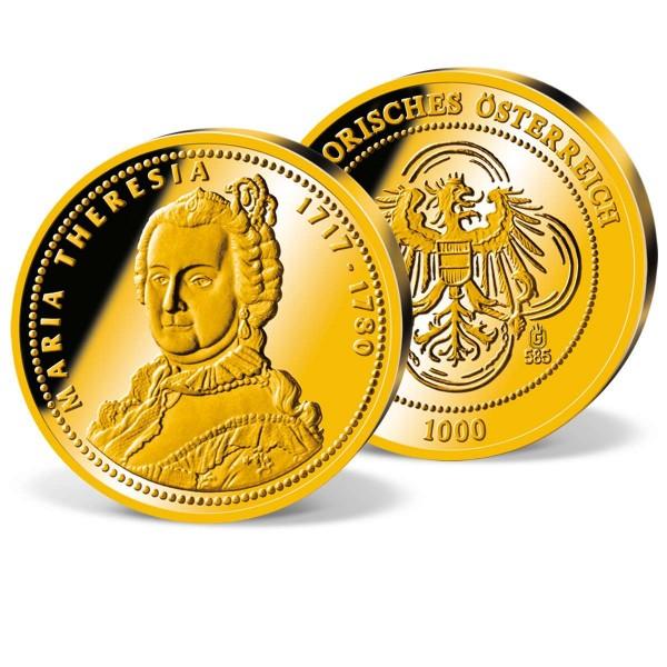 "Gold-Gedenkprägung ""Kaiserin Maria Theresia"" AT_2870090_1"
